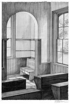 Old Schoolroom by Gary Peterson