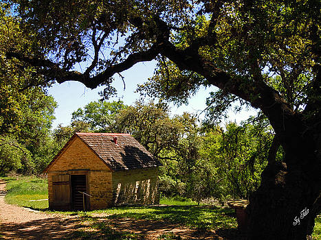 Old Smokehouse by Joy Tudor