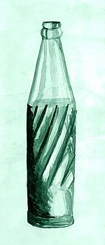 Old Soda Bottle One by Sheri Parris