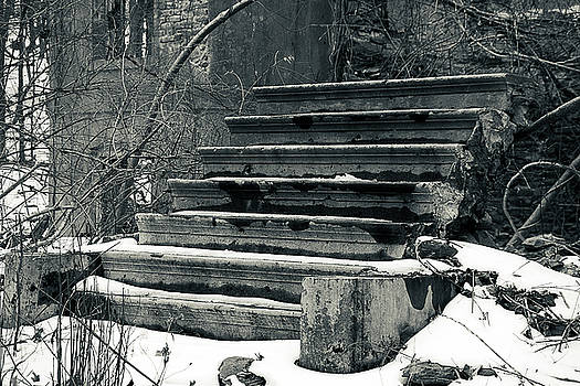 Old Stairs to Nowhere by Jeff Severson