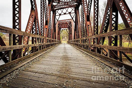Edward Fielding - Old Steel Train Bridge