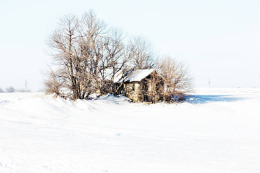 Old  Stone House Milford by Julie Hamilton