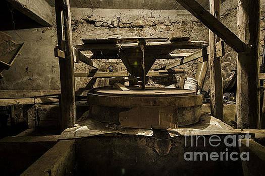 Old Stone Mill by Bener Kavukcuoglu