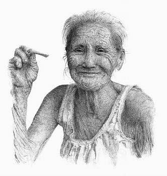 old Thai Women by Kim Philipsen