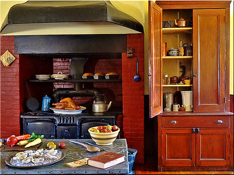 Old time kitchen by Mikki Cucuzzo