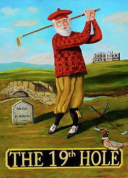 Old Tom Morris by Brian Hustead