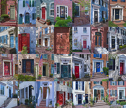 David Zanzinger - Old Town Alexandria Historic Doors