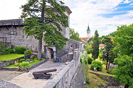 Old town of Trsat near Rijeka by Dalibor Brlek