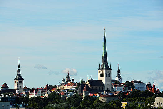 Old Towne Tallinn by Tim Stringer