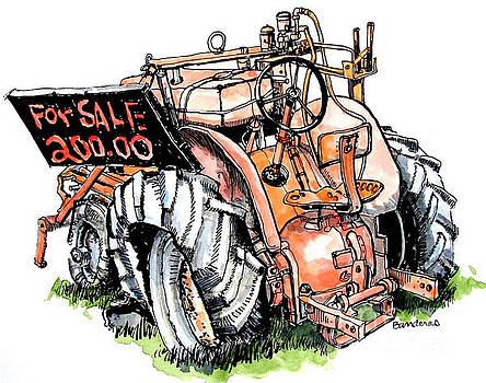 Old Tractor by Terry Banderas