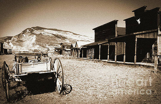 Old Trail Town Main Street by Elaine Jones