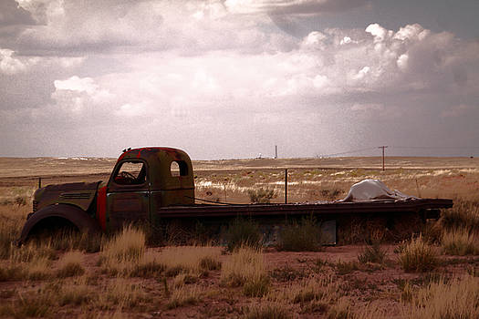 Old Truck In A Pasture by Jeff Swan