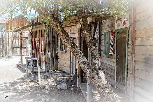 Old Tucson Barber by Pat Scanlon