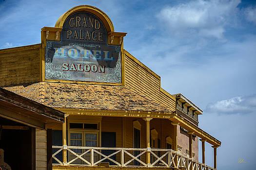 Old Tucson Saloon by Pat Scanlon