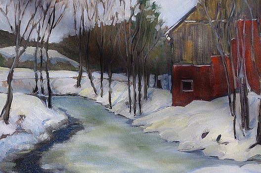 Old Vermont Barn by James Reynolds