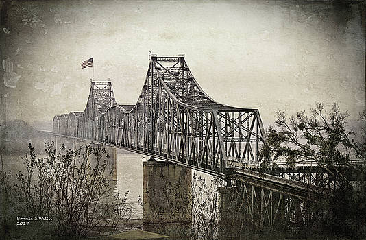 Old Vicksberg bridge2 by Bonnie Willis