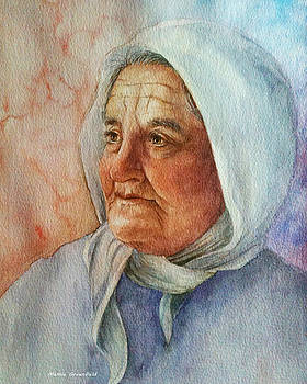 Old Woman by Mamie Greenfield
