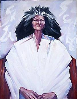 Old Woman by Michael Ryan