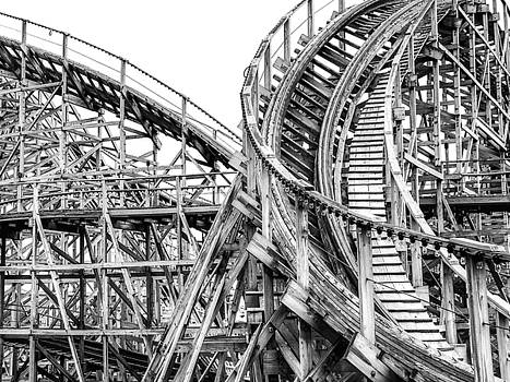 Dominic Piperata - Old Wooden Roller Coaster