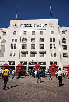 Old Yankee Stadium Last Game by Paul Plaine