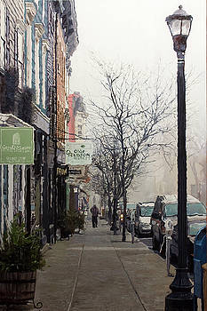Olde Hudson Fog by Kenneth Young