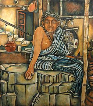 Oldlady by Mona