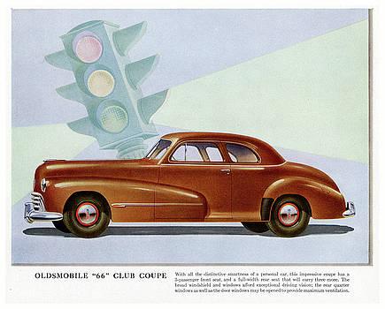 Oldsmobile 66 Club Coupe by Allen Beilschmidt