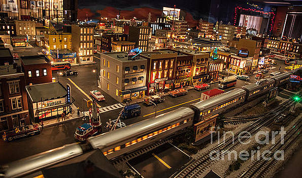 OldTown Model Railroad Depot by Richard Smukler