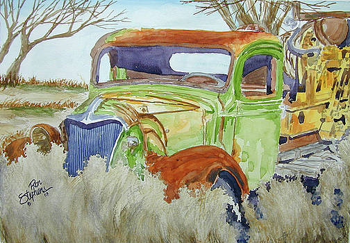 Ole Rusty Green by Ron Stephens