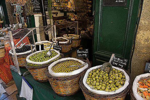 Olives by John Scariano
