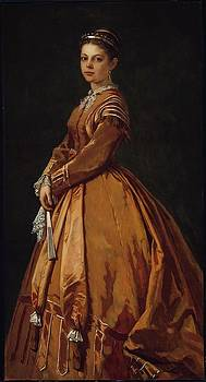 Olivia Buckminster Lothrop by William Morris