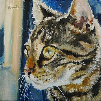 Olivia's Cat by Veronica Coulston