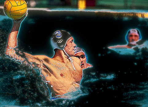 Olympic Water Polo by Rod Kaye