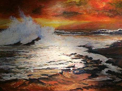 Ominous sunset by David Hammond