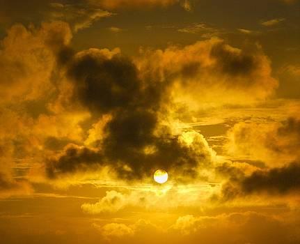 Ominous Sunset by Rachel E Moniz