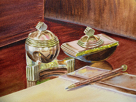Irina Sztukowski - On A Desk at Eugene O Neill Tao House