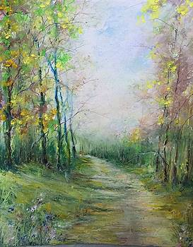 On a Spring Road by Robin Miller-Bookhout