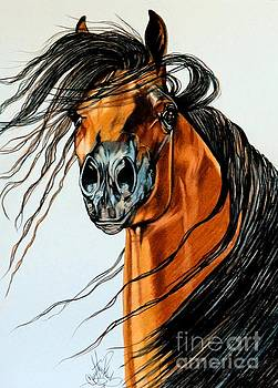 On a Windy Day-Dream Horse Series #2003 by Cheryl Poland