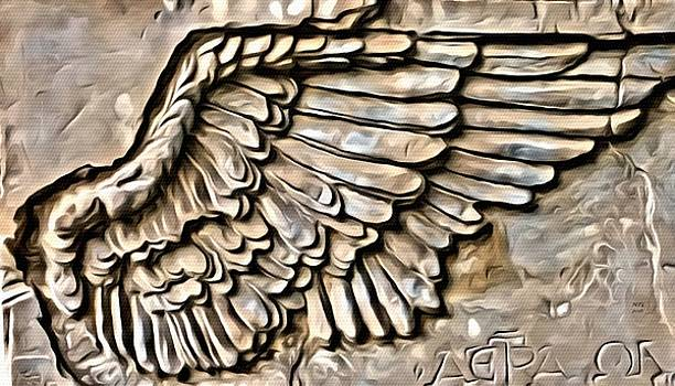 On Angels Wings by Marian Palucci-Lonzetta