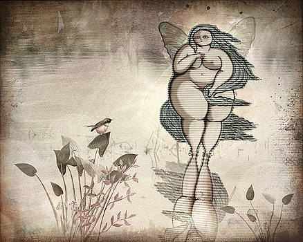 On Fairy Pond by Terry Fleckney