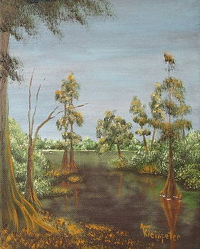 On The Bayou 1 by Ann Kleinpeter