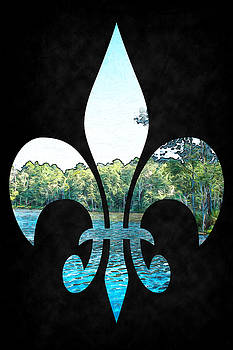 Barry Jones - On The Bayou - Fleur-de-lis