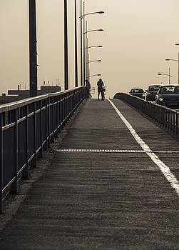 On The Bridge by Zeljko Dozet