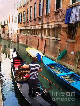 On the Canal in Venice by Jacklyn Duryea Fraizer