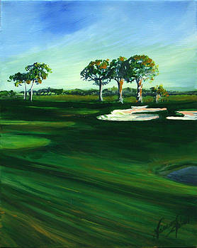 On The Fairway by Michele Hollister - for Nancy Asbell