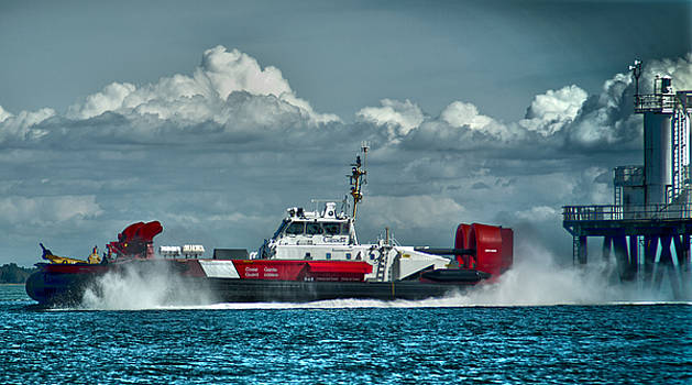 On the move,C.C.G. Hovercraft Moytel by Rob Mclean