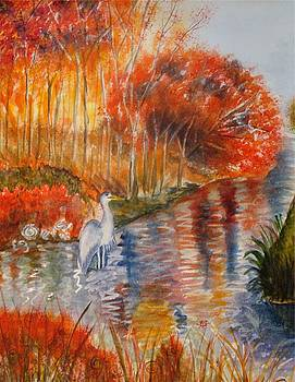 On the River Bank by Bonnie Schallermeir