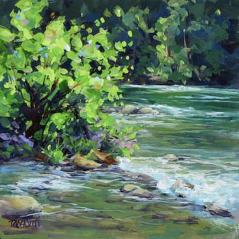 On the River by Karen Ilari