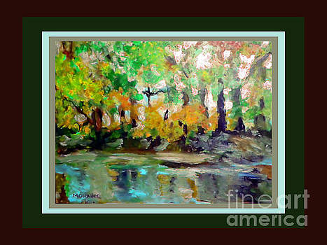 On The Riverbank by Shirley Moravec
