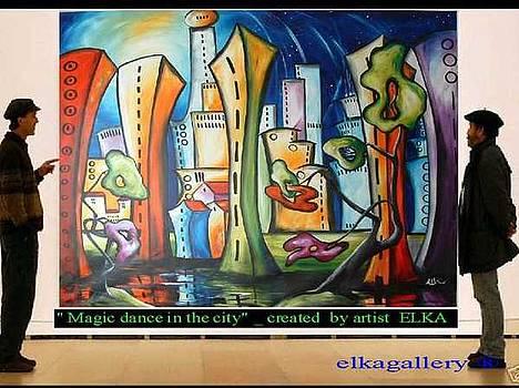 One happy dance in magic city by Elizabeth Kawala